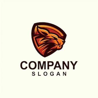 Cheetah mascot logo