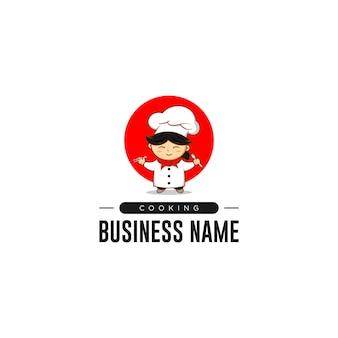 Chef, der logo kocht