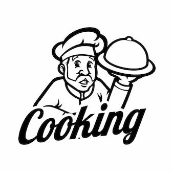 Chef logo vorlage
