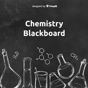 Chemie auf tafel