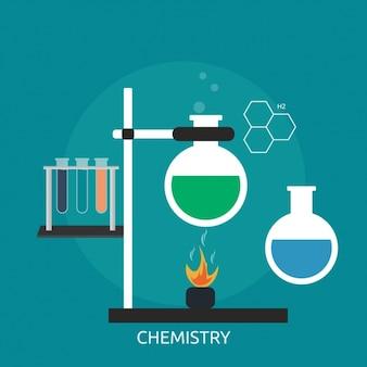 Chemie hintergrund-design