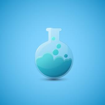 Chemielaborflasche