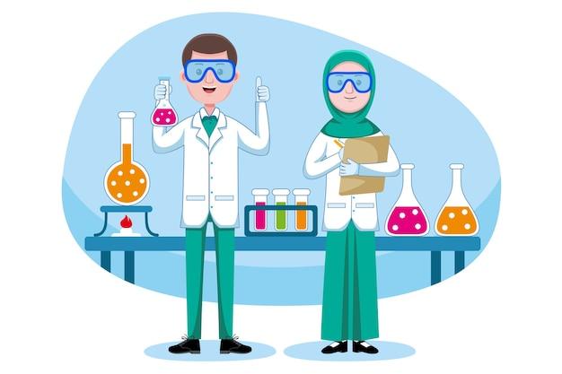 Chemikerberuf