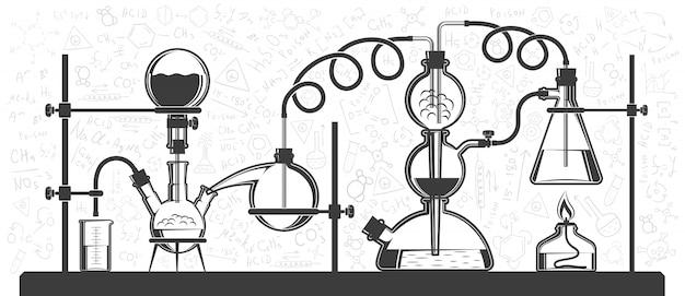Chemische reaktion bestehend aus