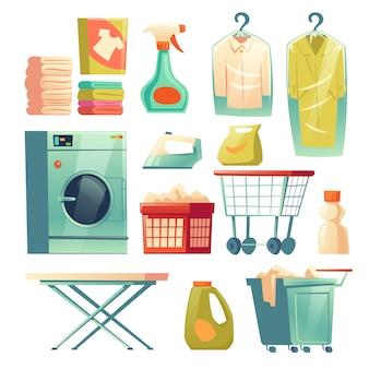 Chemischer reinigungsservice, wäschereiausrüstung