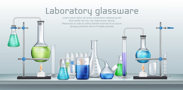 Chemisches laborversuch