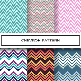 Chevron-muster-kollektion