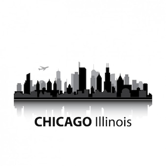 Chicago skyline design