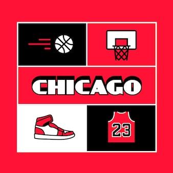Chicago stadt schriftzug