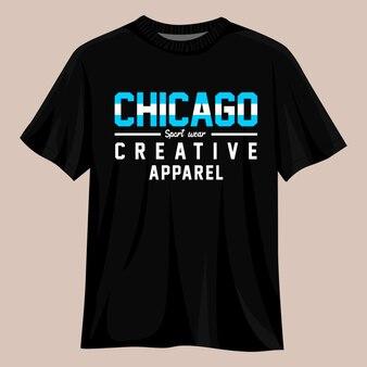 Chicago urban city t-shirt-design