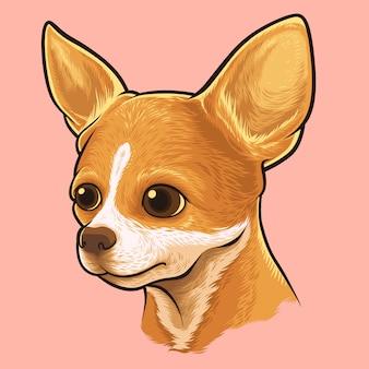 Chihuahua-hundeporträt