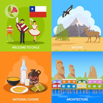Chile-design-konzept
