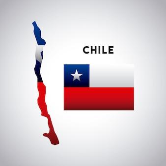 Chile-landentwurf