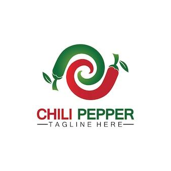 Chili-pfeffer-logo-vektor-symbol-illustration-design-vorlage