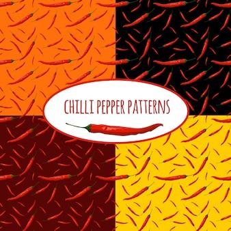 Chili-pfeffer-muster