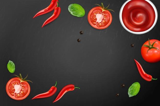 Chili und tomate