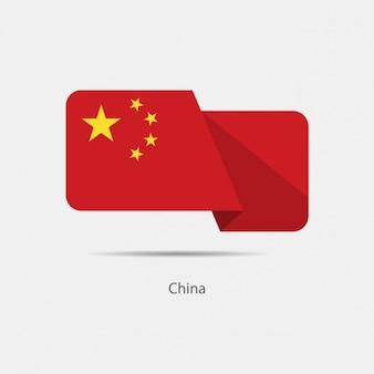 China-flaggenentwurf
