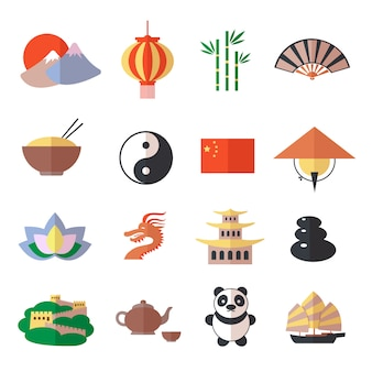 China-ikonen eingestellt
