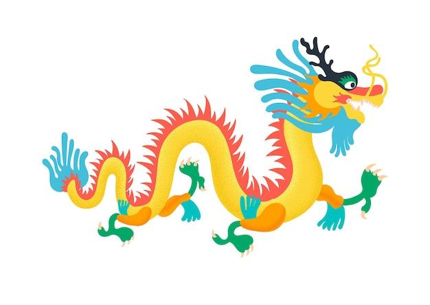 Chinesischer farbiger drache