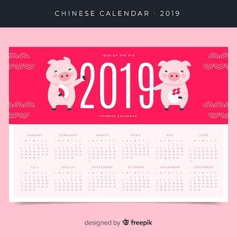 Chinesischer neujahrskalender
