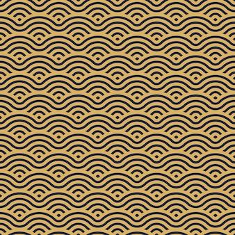Chinesischer traditioneller orientalischer verzierungshintergrund. textur asiatisches traditionelles motiv. geometrisches formmuster nahtlos.