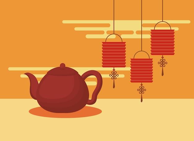 Chinesisches kulturdesign