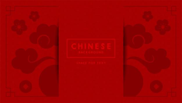 Chinesisches musterdesign.