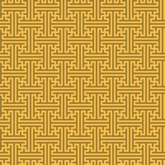 Chinesisches nahtloses geometrisches muster