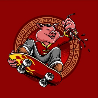 Chinesisches neujahr feiern