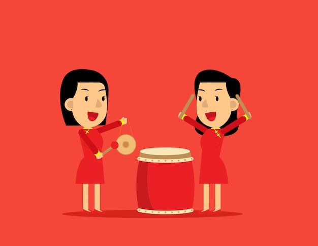Chinesisches neujahr .