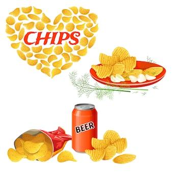 Chips gesetzt.