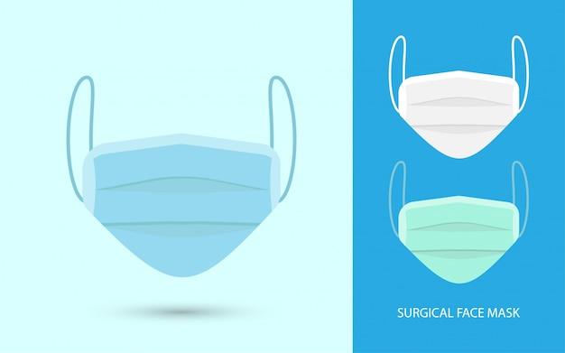 Chirurgische gesichtsmaske