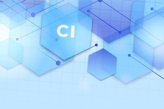 Chlor hintergrund