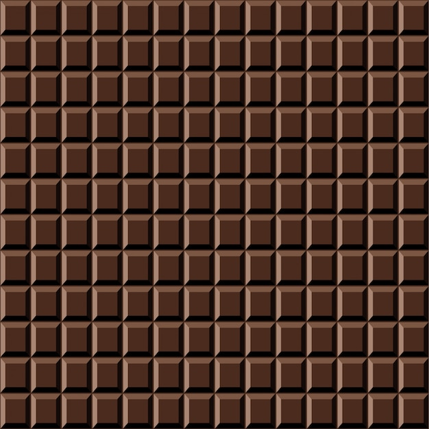 ? chocolate bar nahtlose muster süße textur