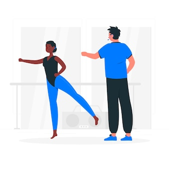 Choreograph konzeptillustration