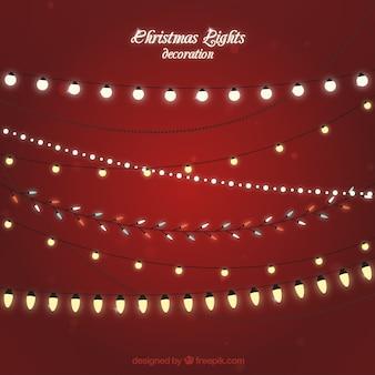 Chrismas-licht-dekoration set