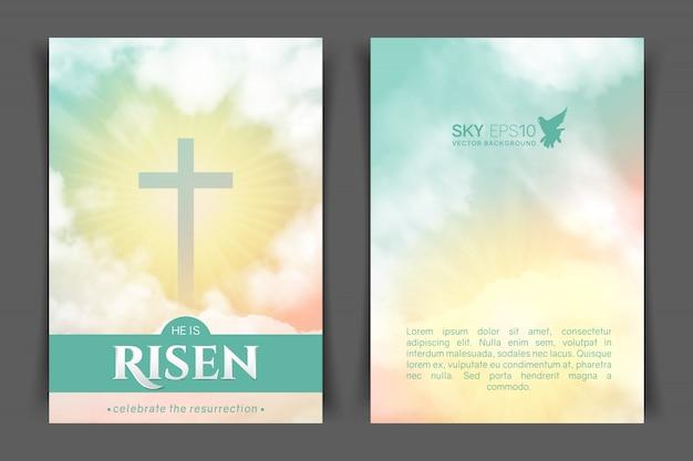 Christliches religiöses design.