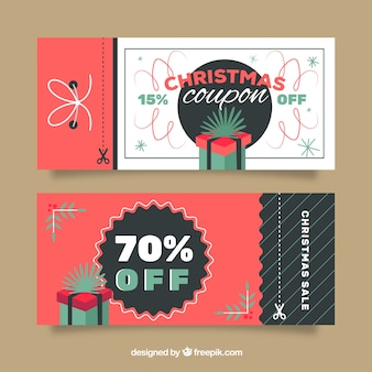 Christmas sale coupon-pack