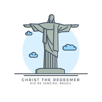 Christus der erlöser-symbol
