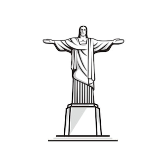 Christus der erlöservektor