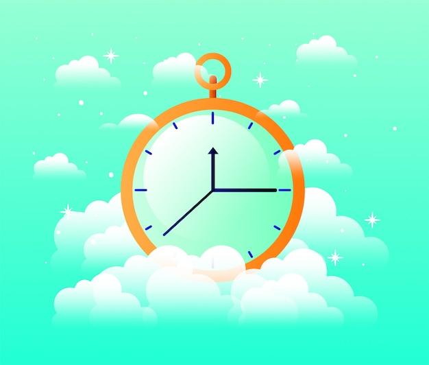 Chronometer timer isoliert symbol