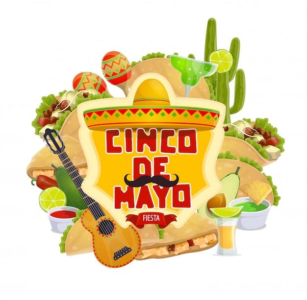 Cinco de mayo fiesta, traditioneller mexikanischer feiertag