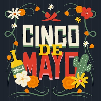 Cinco de mayo flacher stil