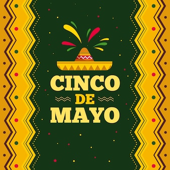 Cinco de mayo mit hut