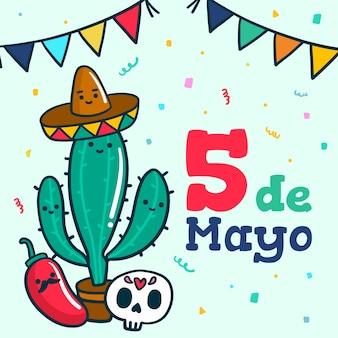 Cinco de mayo zeichnung