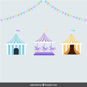 Circus-elemente