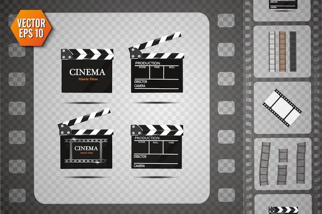 Clapper board. filmklöppel.