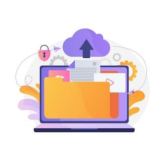 Cloud-computing cloud-hosting und cloud-speicher