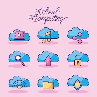 Cloud computing digitale netzwerkverbindungstechnologie