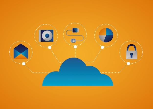 Cloud-computing-konzept